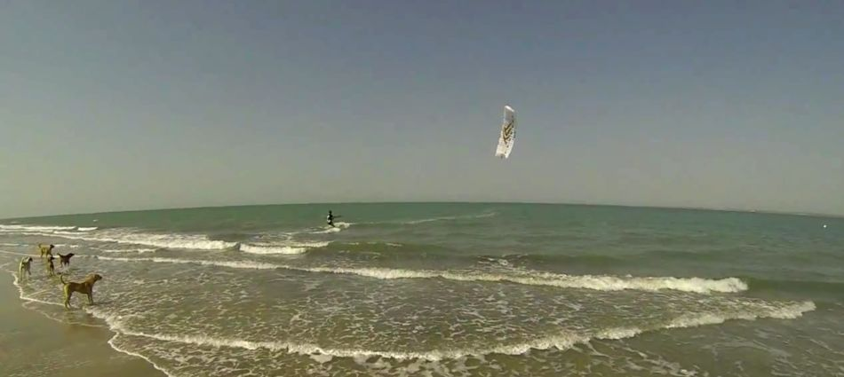 Kite Surfer Gambia